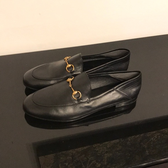 96d5456172d Gucci Shoes - GUCCI 10MM BRIXTON LEATHER LOAFER